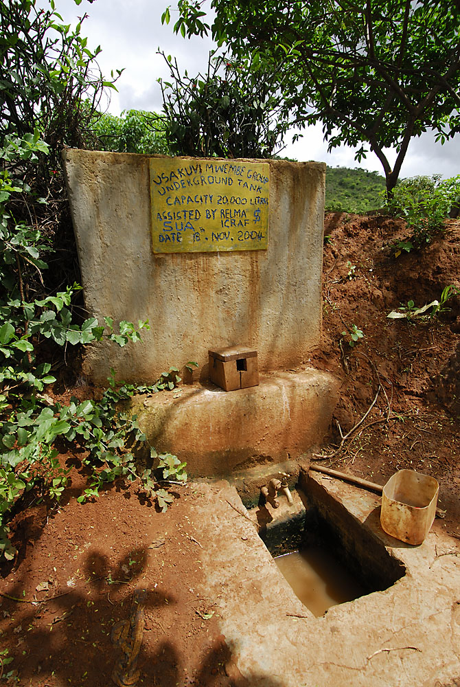 Rainwater harvesting in Tanzania