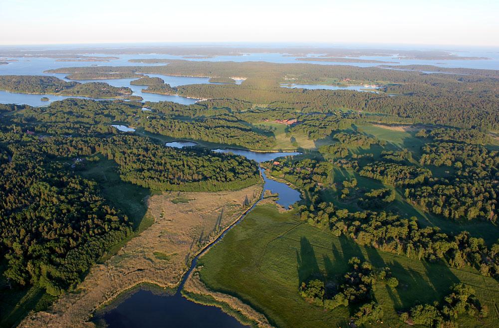 Konnektivitet i landskap. Kanal mellan Lännåkersviken och Ryssevik
